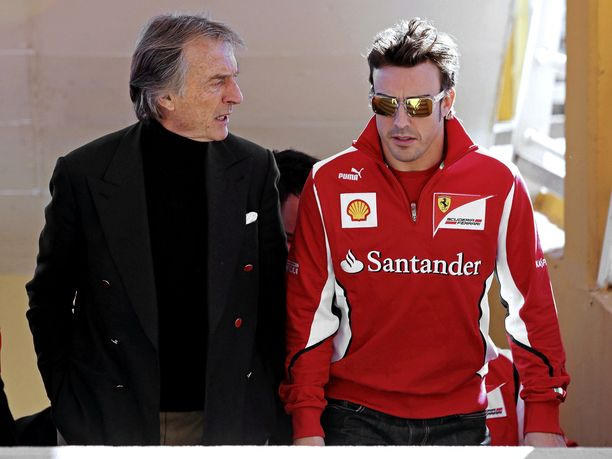 Luca di Montezemolo oli juonimassa Fernando Alonsoa Ferrarille Kimi Räikkösen tilalle kaudelle 2010 mutta myös Sebastian Vetteliä Alonson tilalle kaudelle 2015.