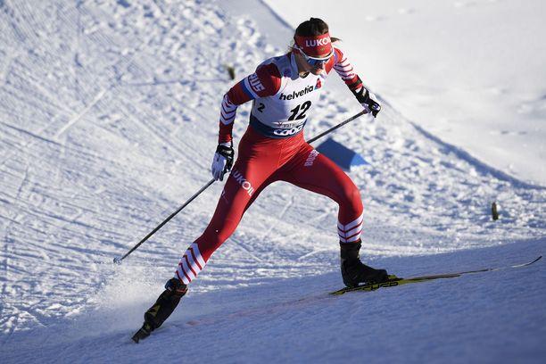 Julia Belorukova löi Frida Karlssonia.
