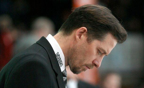 Ari-Pekka Siekkinen toimii JYPin joukkueenjohtajana.