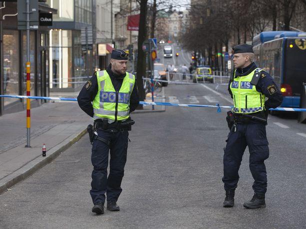 Ruotsin poliisi. Kuvituskuva.