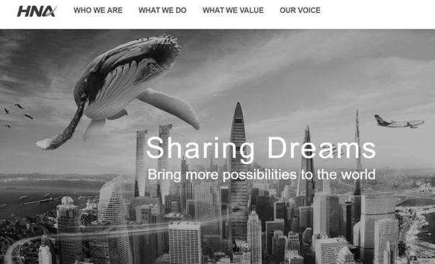 HNA muutti yhtiönsä nettisivut harmaiksi johtajansa kuoleman vuoksi.