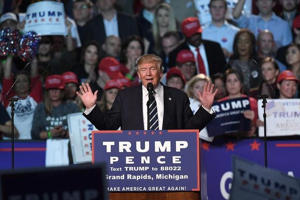 Donald Trump saattaa hyvinkin olla Yhdysvaltain seuraava presidentti.