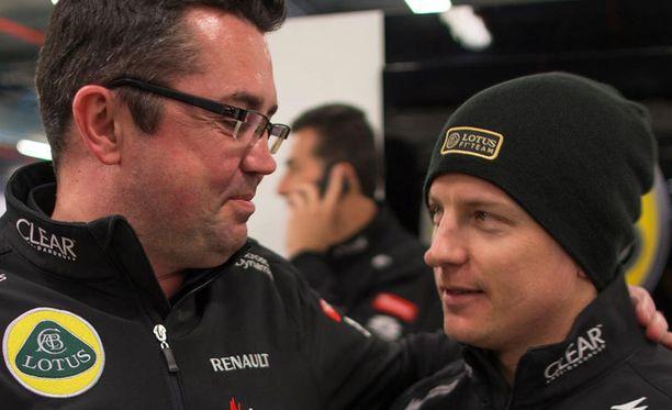 Kimi Räikkösen voitto yllätti jopa Eric Boullierin.