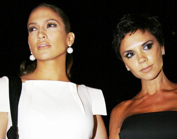 Jennifer Lopez ja Victoria Beckham ovat shoppailuystäviä.