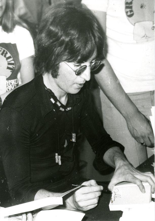 John Lennon Lontoossa vuonna 1971.