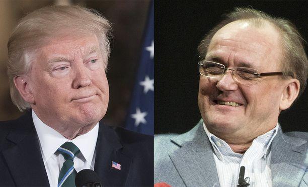 Donald Trumpin omaisuus on yhtä suuri kuin Kone-omistaja Antti Herlinin.