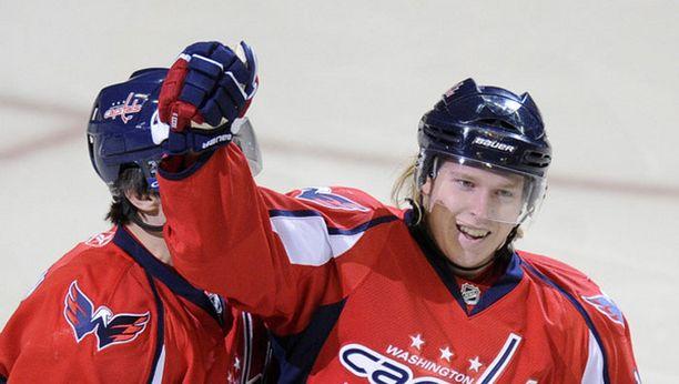Washingtonin tähtihyökkääjä Nicklas Bäckström lähti kesällä 2007 ilmaiseksi NHL:ään.