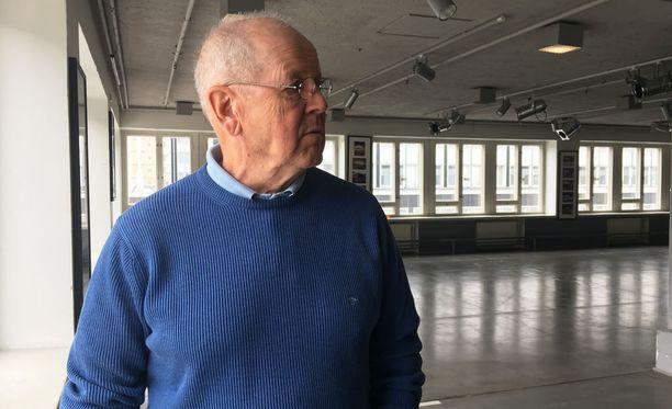 Palkittu kirjailija Antti Tuuri kertoo olevansa Ikitien elokuvaversioon erittäin tyytyväinen.
