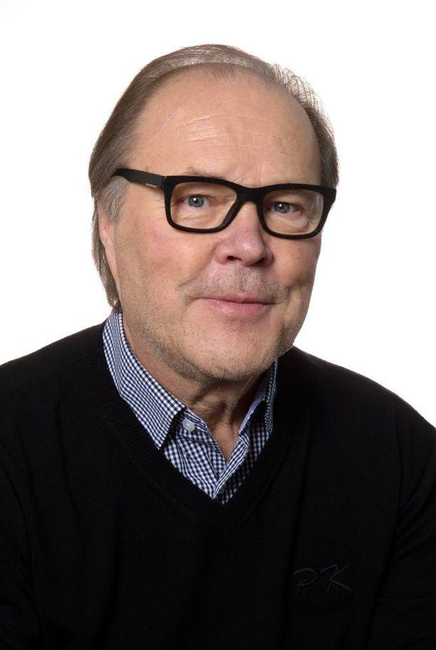 Suomen Potilasliiton puheenjohtaja Paavo Koistinen.