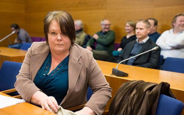 Kiemunki Pirkanmaan käräjäoikeudessa helmikuussa 2015. Oikeus pui tuolloin törkeää kunnianloukkausasiaa, joka liittyi perussuomalaisten kunnallisvaalilehteen.