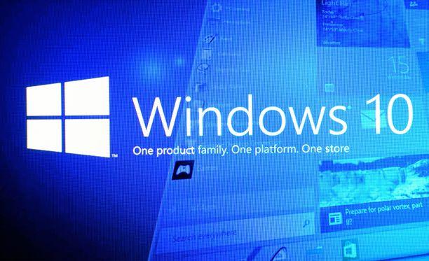 Windows 10:n käyttö loppuu monella viimeistään 2025.