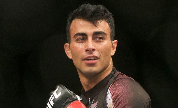 Makwan Amirkhani (kuvassa) hävisi vuonna 2011 Viktor Tomasevicille, joka ottelee NFC 1 -illassa Niko Puhakkaa vastaan.