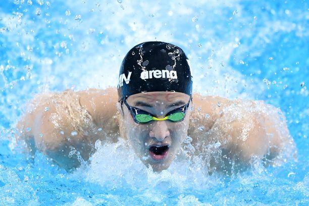 Daiya Seto on Japanin suurimpia mitalitoivoja kotiolympialaisissa.