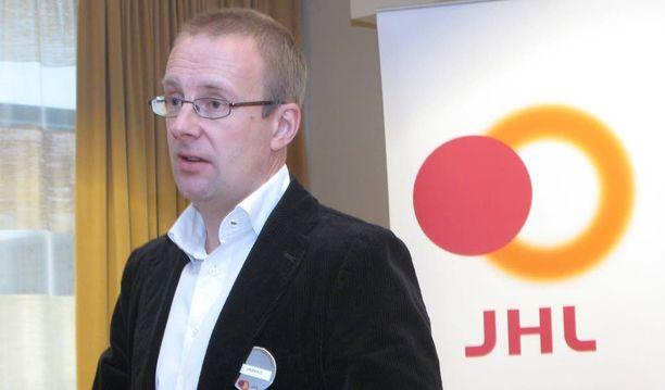 Julkisten ja hyvinvointialojen liiton puheenjohtaja Jarkko Eloranta.