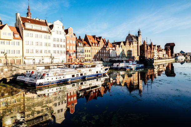 Gdanskiin pääsee Turusta pikkurahalla.