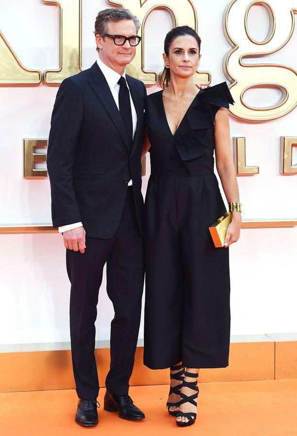 Colin Firth ja Livia Giuggioli avioituivat vuonna 1997.