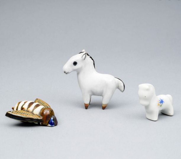 Arabian pienet figuurit menivät kaupaksi 80 eurolla.