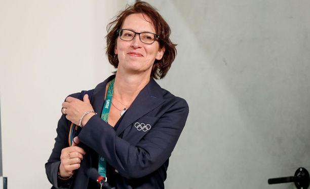 Sari Essayah pitää tärkeänä asiana, että Suomella on oma kisapastori Riossa.