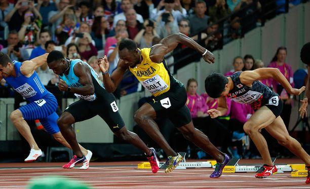 Usain Bolt on yhä ykkössuosikki, mutta tällä kertaa haastajat eivät ole kaukana.