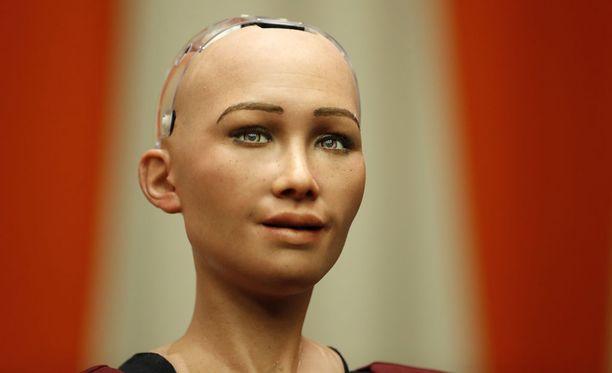 Sophia-robotti käynnistettiin vuonna 2015.