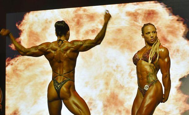 Ndidi Honkanen (oik.) voitti SM-hopeaa.