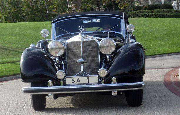 Marskin mersu löytyy tätä nykyä yksityisestä automuseosta Kalifornian Coto de Cazasta.