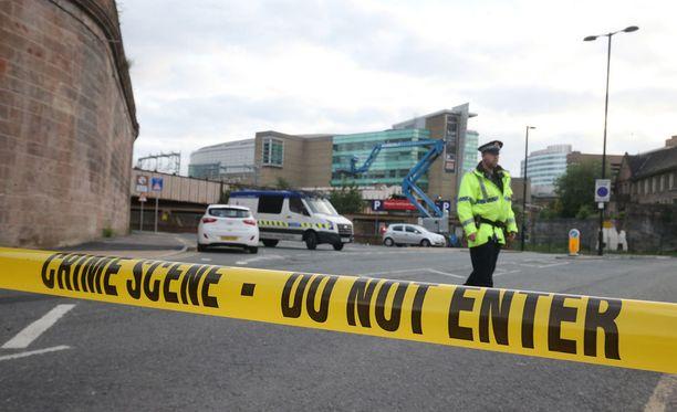 Areenan läheinen alue ja kadut on eristetty terrori-iskun seurauksena.