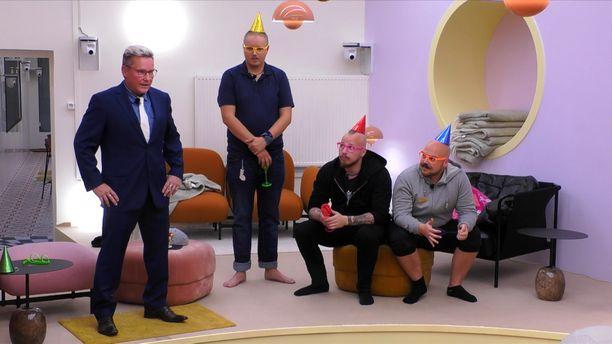 Big Brother -talossa järjestettiin eilen juhlat.