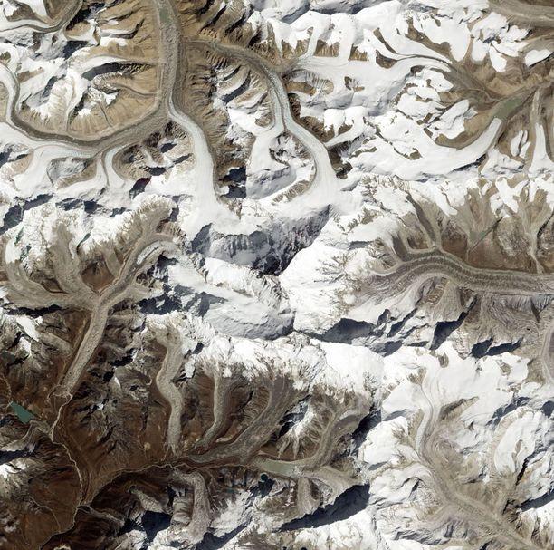 Mount Everest Nepalissa.