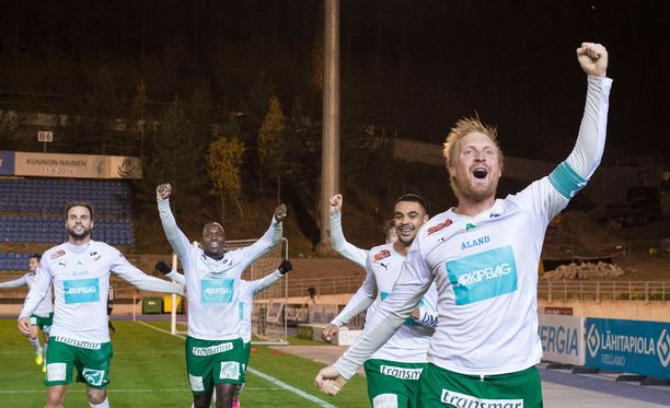 Jani Lyyskin ja IFK Mariehamnin Suomen mestaruus on omissa käsissä.