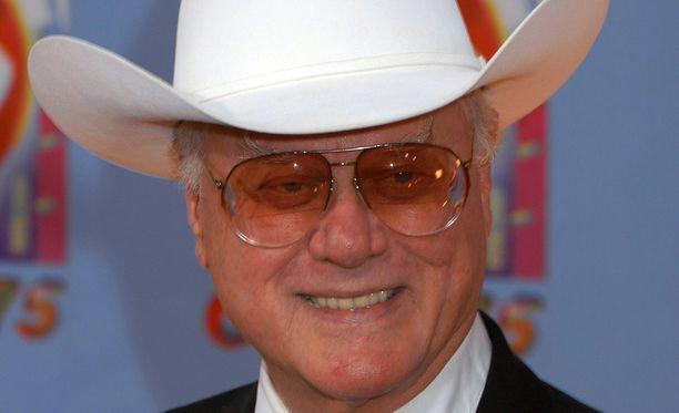 Larry Hagmanin tavaramerkki oli Stetson-hattu.