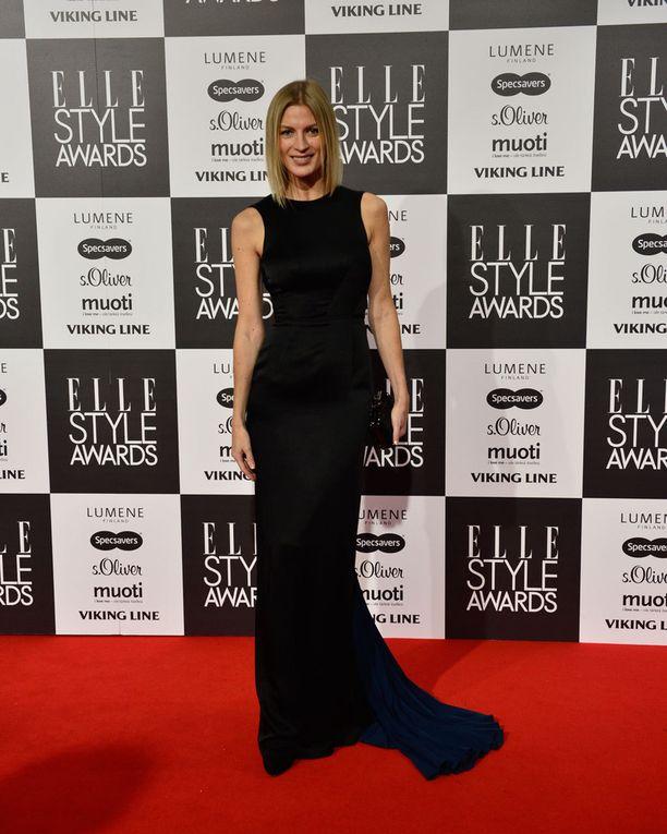 Kuvassa Niina Kurkinen vuonna 2014 Elle Style Awards -tapahtumassa.