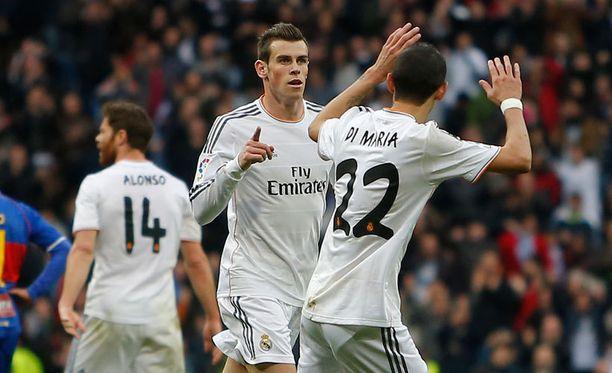 Jättihankinta Gareth Bale osui viikonloppuna Real Madridin voitossa.