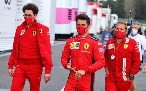 """Yksi luku kertoo Ferrarin murheellisesta kaudesta – tallipomo käänsi katseet ensi kauteen: """"erittäin lupaavaa"""""""