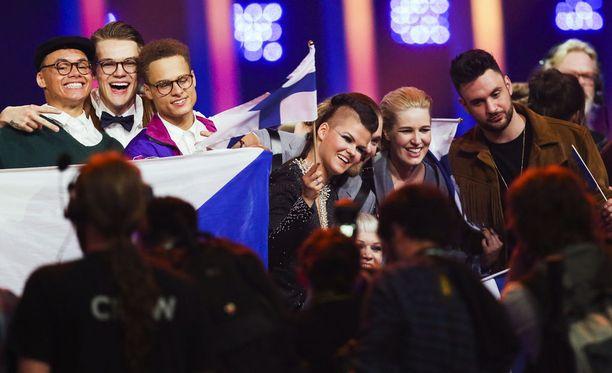 Saara Aalto pääsi viisufinaaliin.