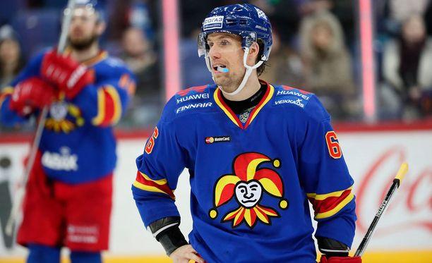 Topi Jaakola syötti kaksi maalia Moskovan ZSKA:ta vastaan.