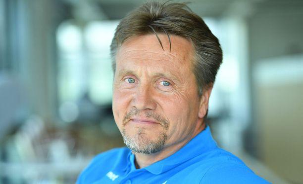 Jyrki Blom aloitti virallisesti vappuna Antti Ruuskasen uutena valmentajana.