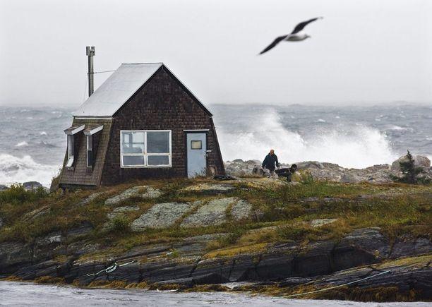Nova Scotian itärannikkoa Kanadassa.