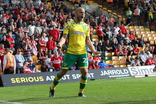 Teemu Pukki on iskenyt Norwichin viidessä kotiottelussa neljä maalia.