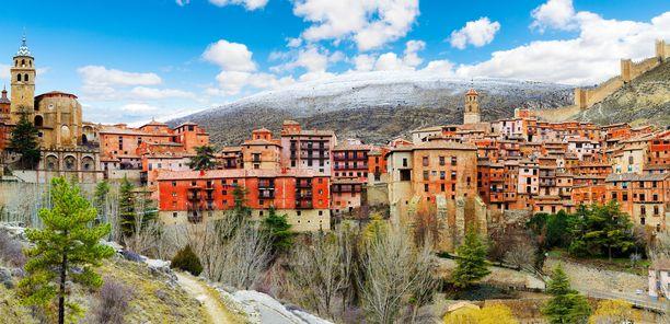 Tässä on Albarracín, espanjalaisten mielestä maan kaunein kaupunki.