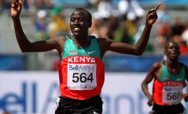David Kiprotich voitti 5000 metrin nuorten maailmanmestaruuden vuonna 2010.