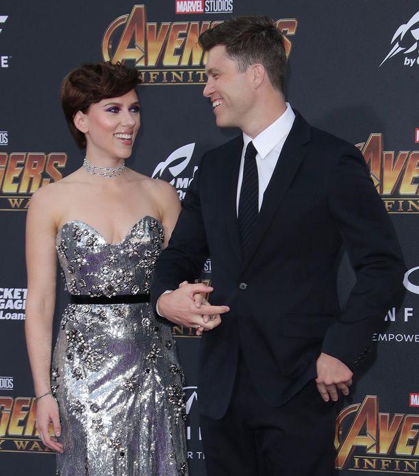 Scarlett ja Colin ovat umpirakastuneita.