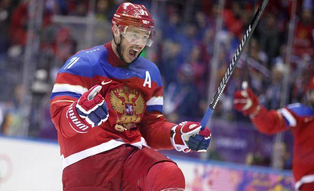 Venäjän jääkiekkomaajoukkue nähtäneen Pyeongchangissa.