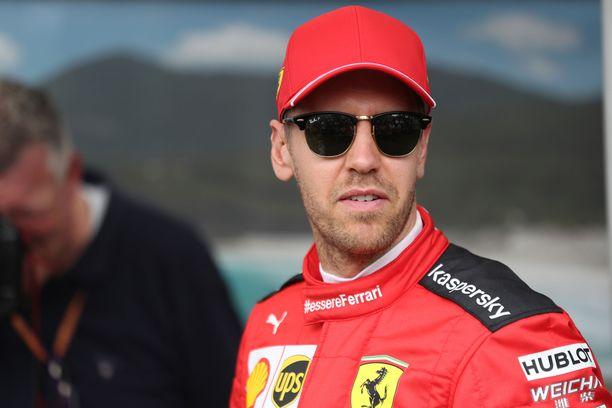 Sebastian Vettel jättää Ferrarin tämän kauden jälkeen.