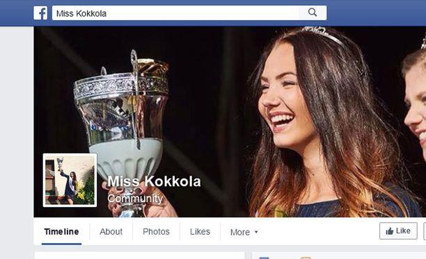 Olivia Myllylä on vuoden 2015 Miss Kokkola.