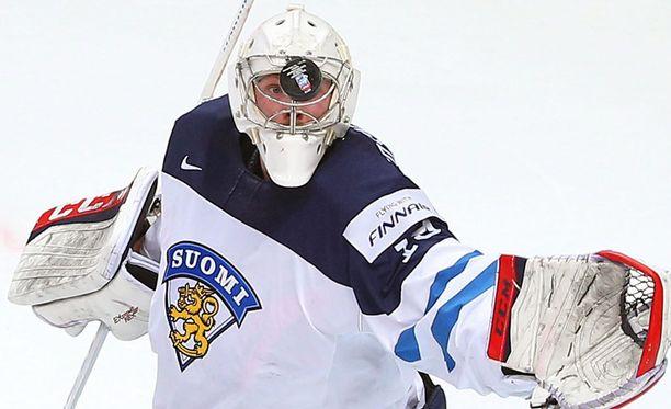 Mikko Koskinen torjui Suomen hopealle Venäjän MM-turnauksessa.