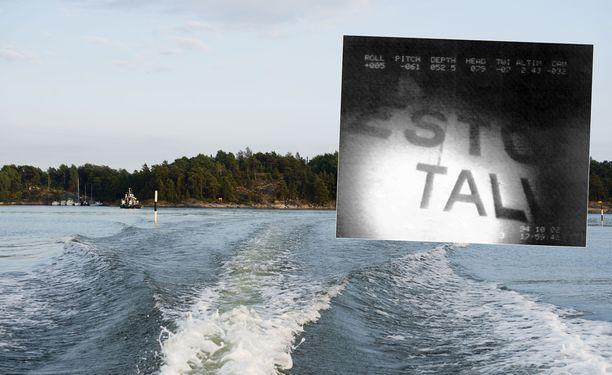 Estonia upposi Itämerellä syyskuussa 1994. Kuvituskuva.