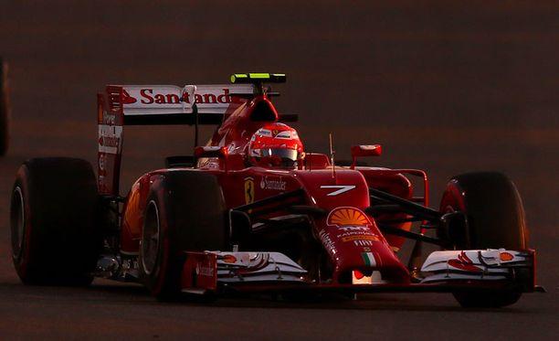 Saako Kimi Räikkönen Ferrarinsa vauhtiin tällä kaudella?