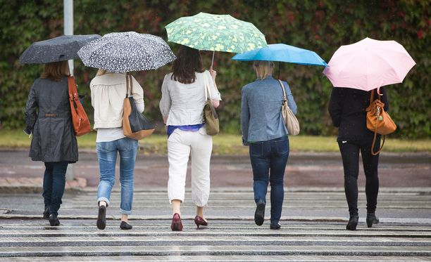 Sadetta tulee keskiviikkona lähes koko maassa.