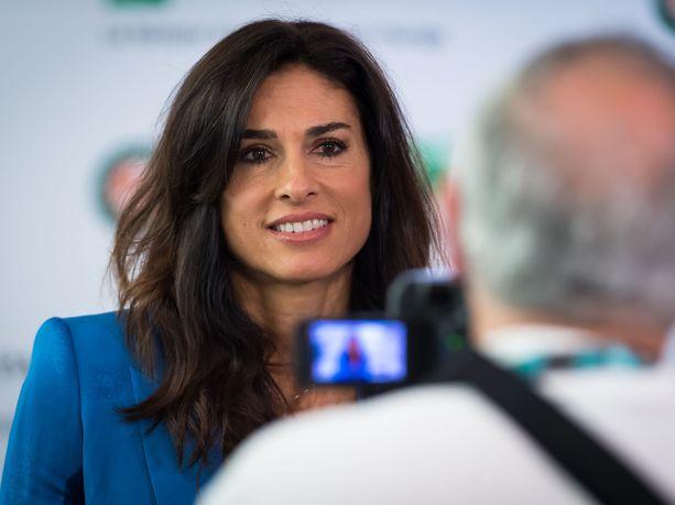 Gabriela Sabatini piipahti viime vuonna Ranskan avoimissa.